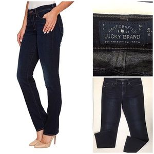 Lucky Brand Sweet Straight dark wash jeans 8/29